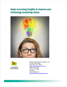 How to apply ideas from eLearning experts to tech marketing explainer videos