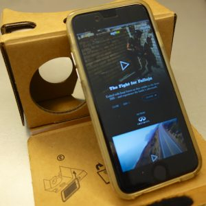 NY Times VR App and Google Cardboard. Is this relevant to I.T. video marketing?