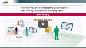 link to explainer video on lean supply chain execution