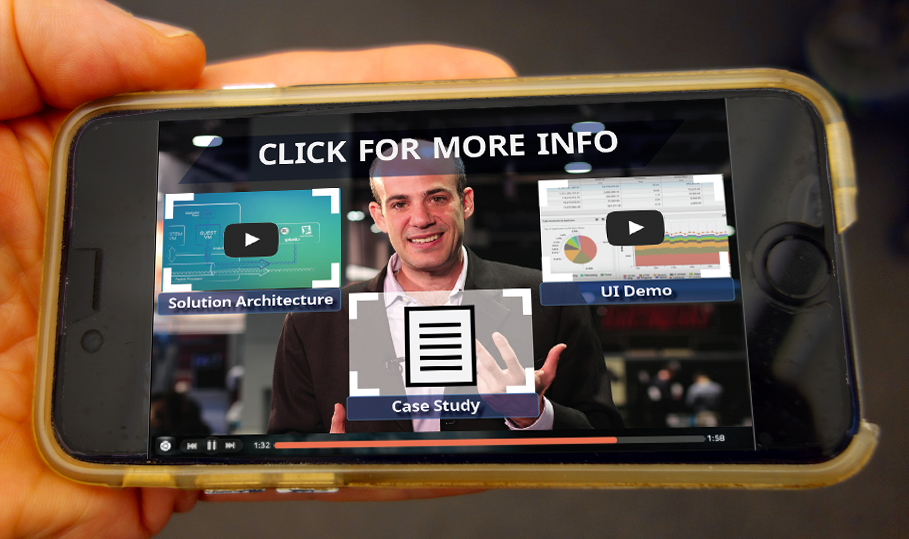 Clickable objects make interactive video a much more engaging sales tool for business development