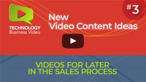 video for later in sales process
