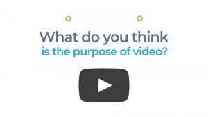 Rethink video. TechBizVideo Kinetic Text Link