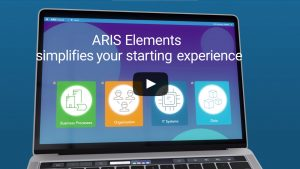 Link to Software AG explainer video about ARIS Elements